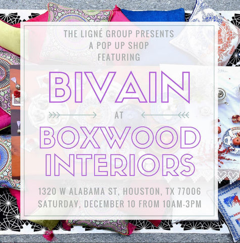 Bivain at Boxwood Interiors