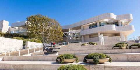 The Getty Museum, Brentwood , Los Angeles, California
