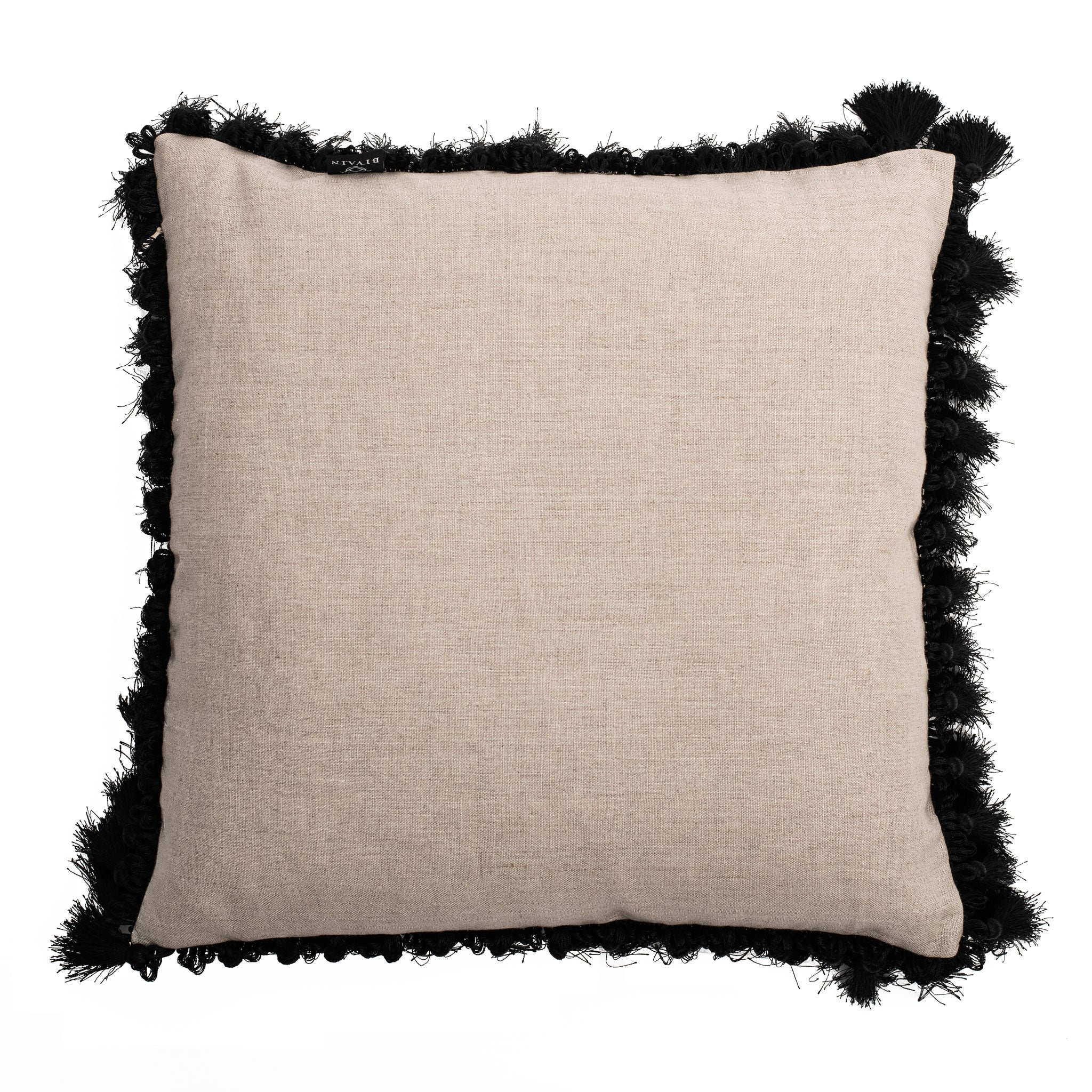 Zebrano Linen Cushion