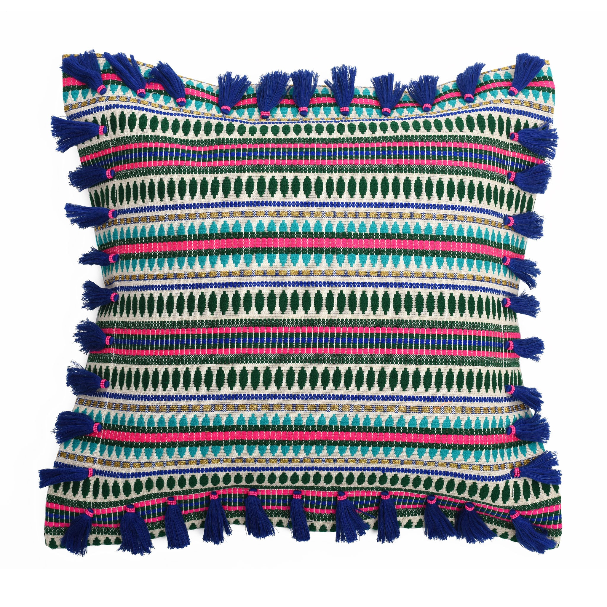 Bedawi Indigo Cotton Cushion