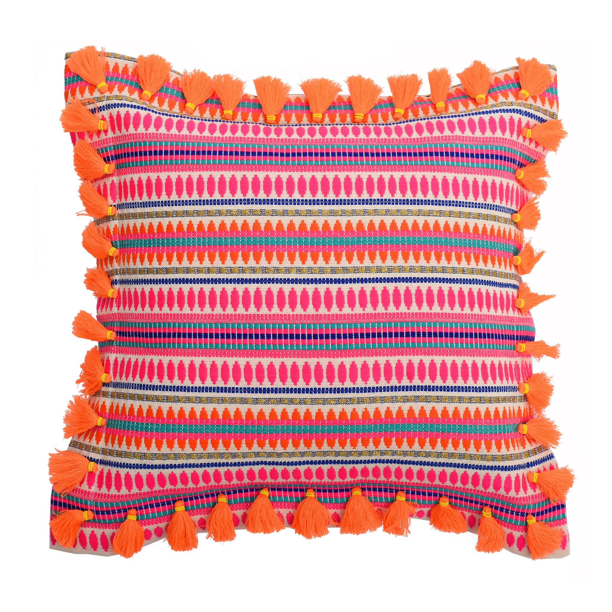 Bedawi Neon Cotton Cushion