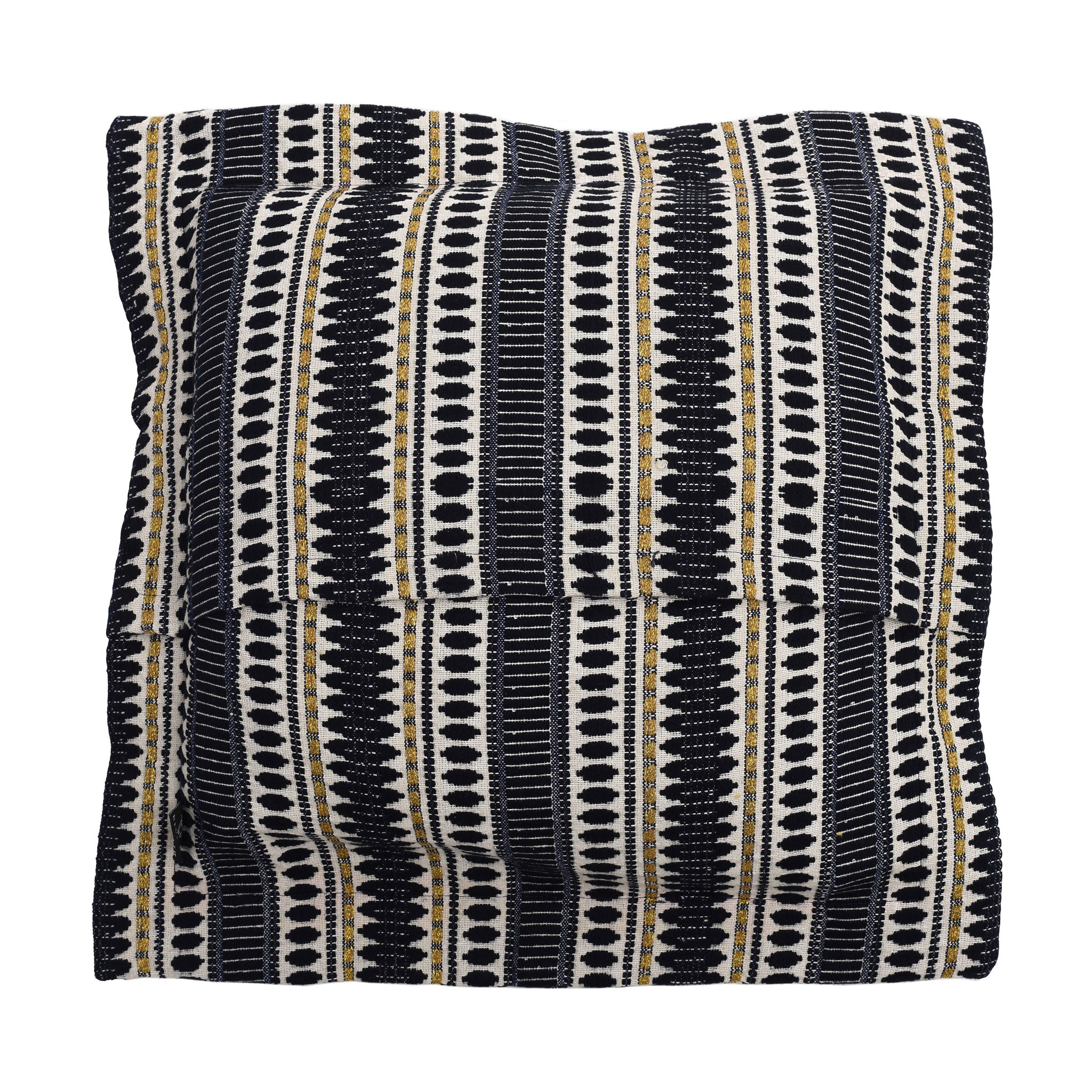 Bedawi Navy Cotton Cushion