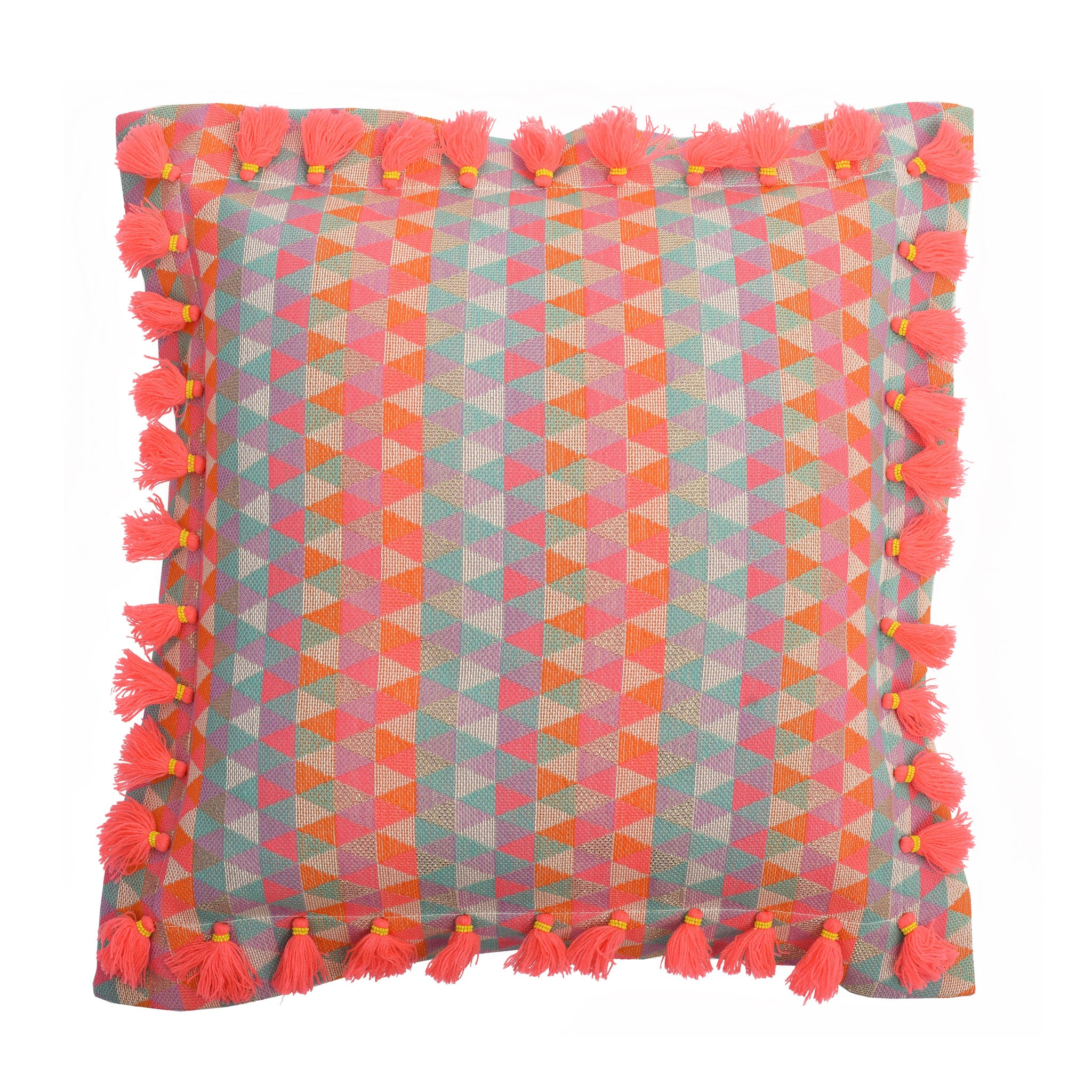 Bedawi Blush Cotton Cushion
