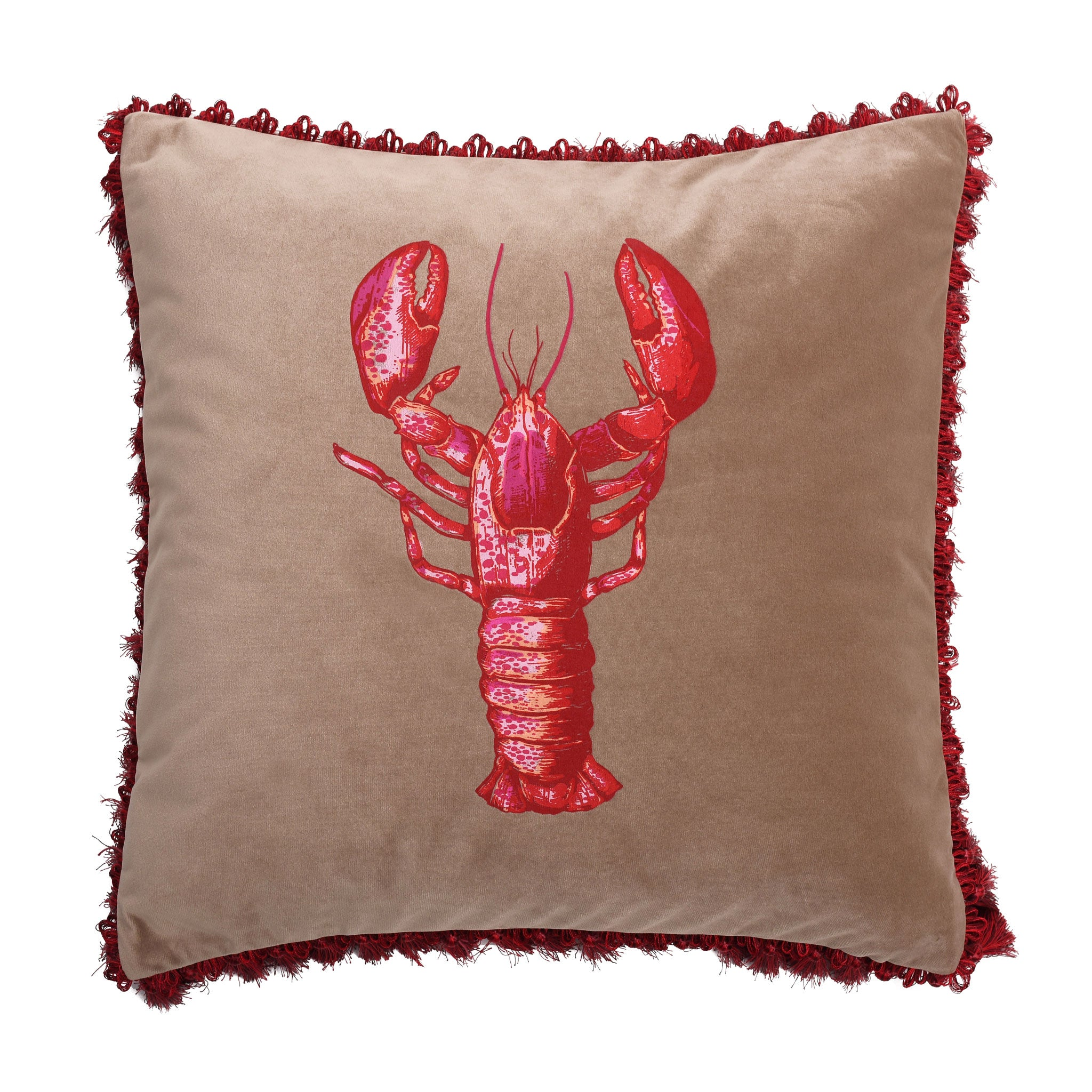 Langosta Velvet Cushion