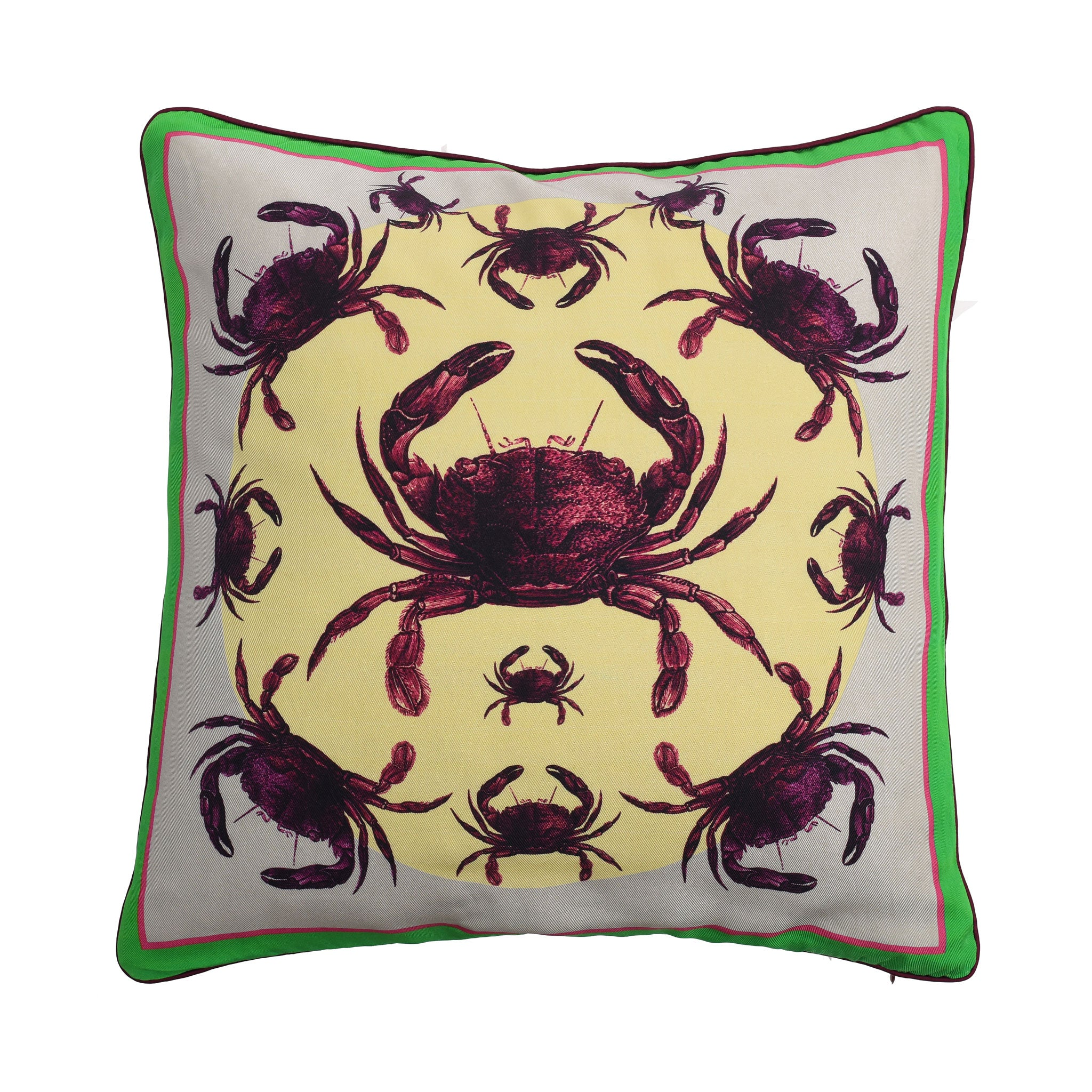 Crab Silk Cushion