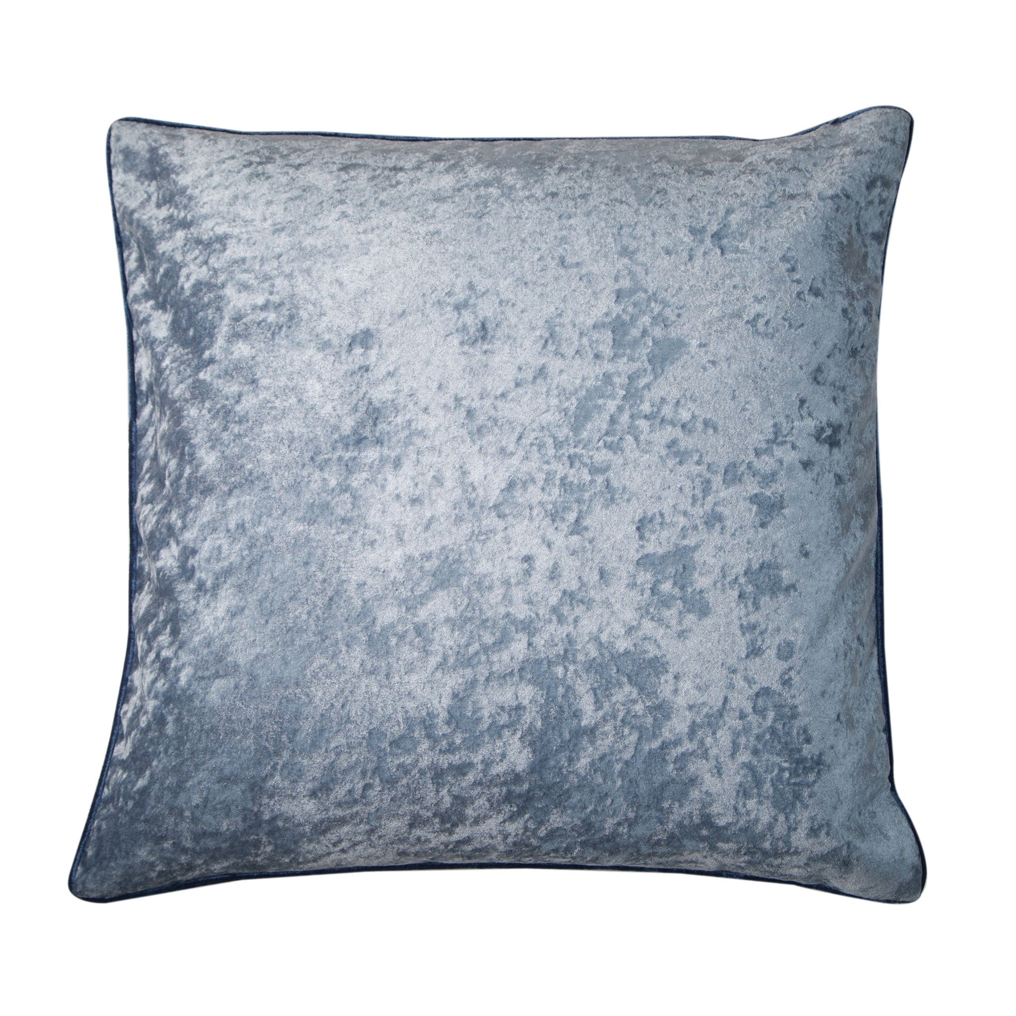 Sapphire & Light Blue Velvet Cushion