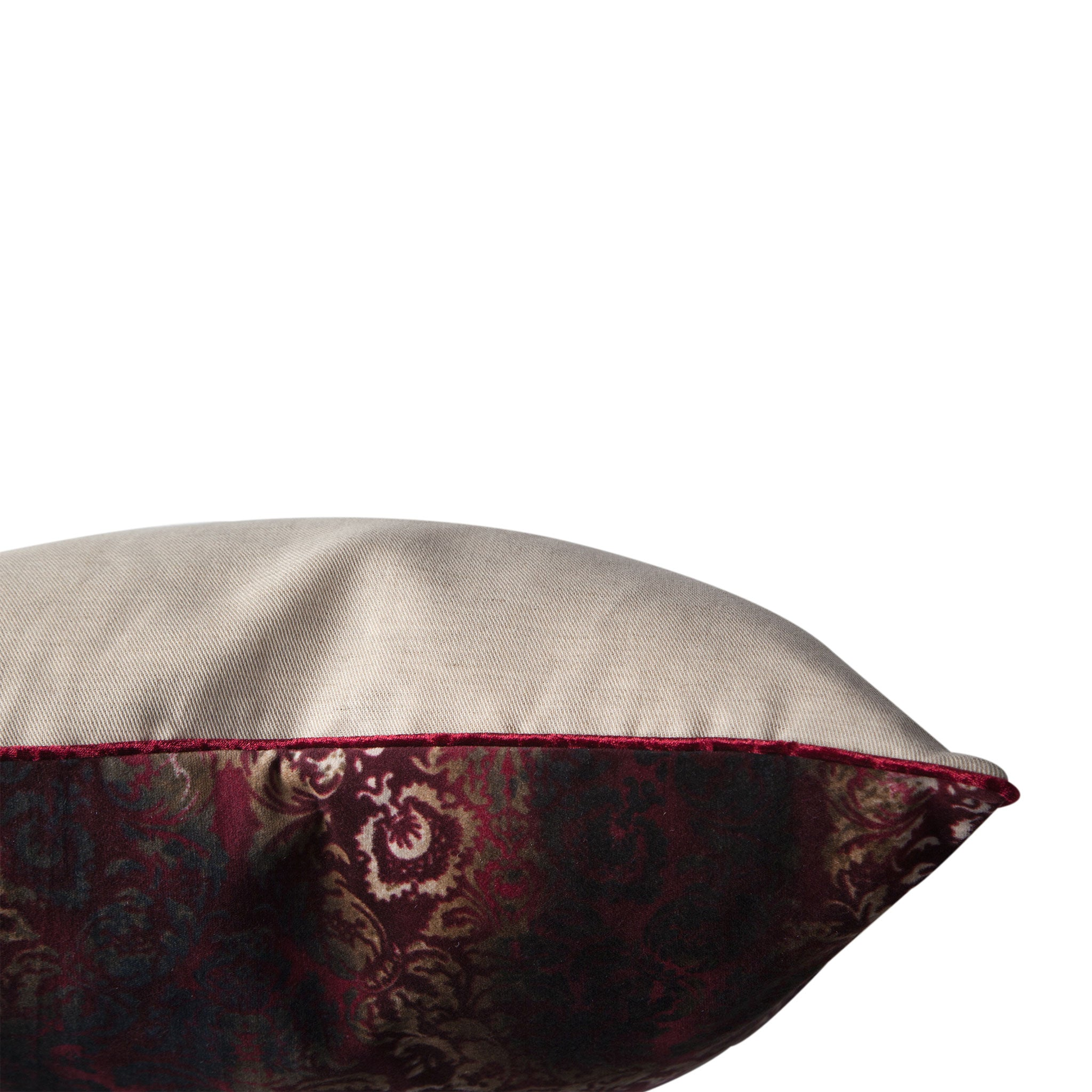 Damask & Linen Cushion