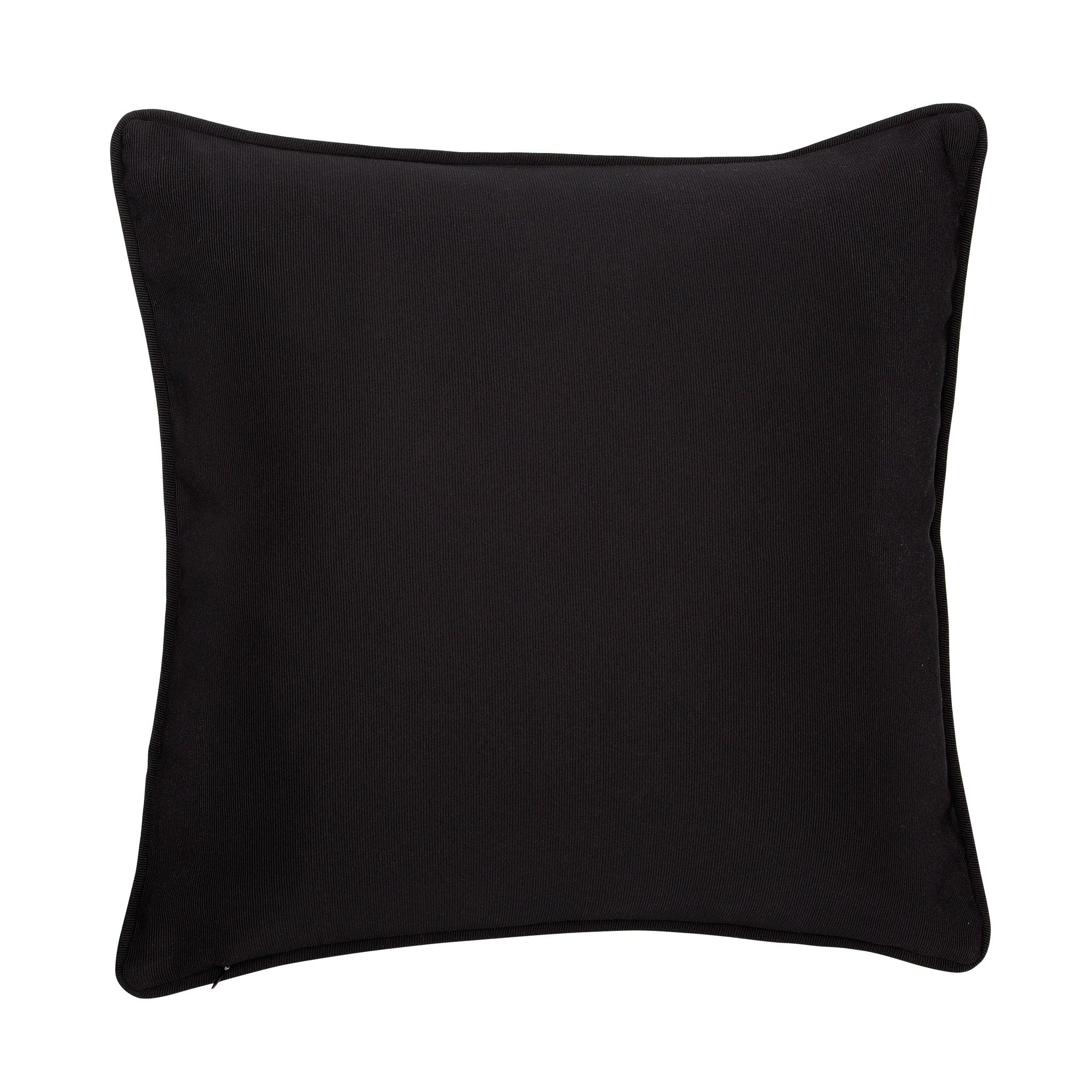 Cotton black & white reclining nude print cushion - Bivain - 3