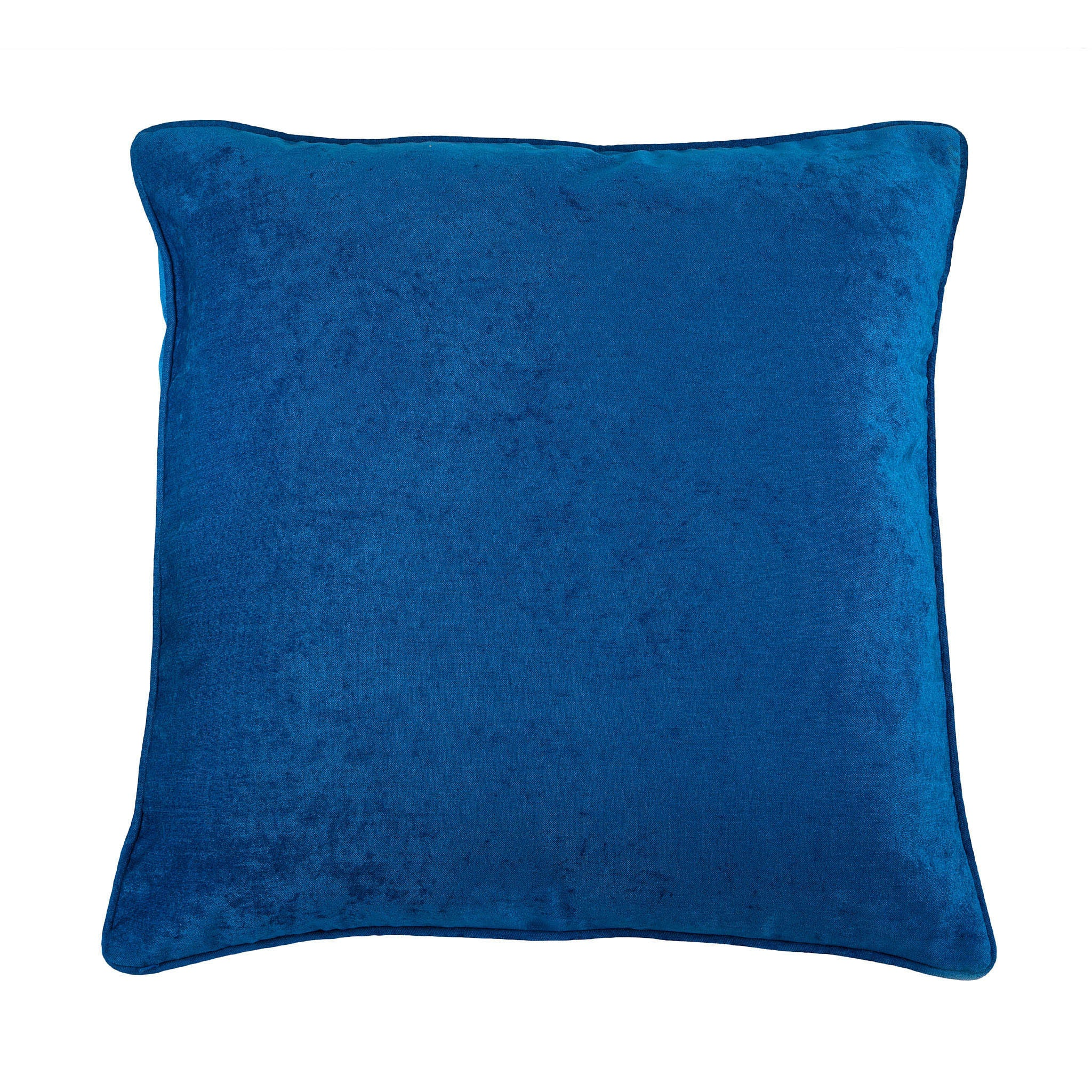 Cobalt Blue Velvet Cushion, , Bivain