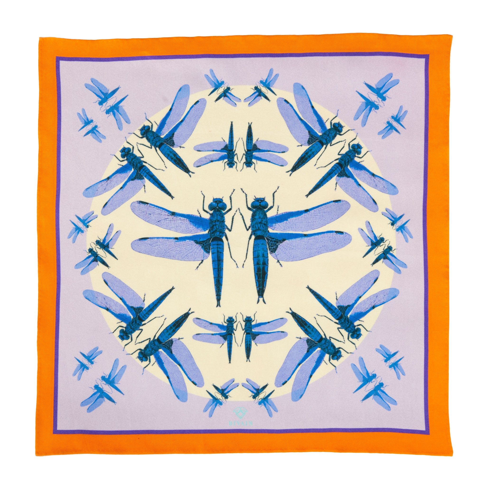 Dragonfly Pocket Square
