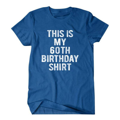 60th birthday T-shirt-Daylyn
