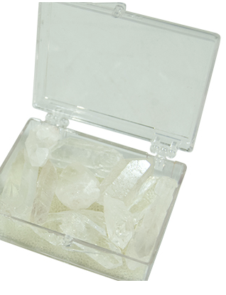 Clear Quartz in a Box