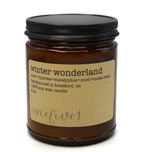 winter wonderland soy candle 8 oz