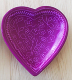 Pattern Heart Dish