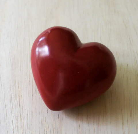 Large Red Heart Paperweight