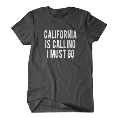 California is calling I must go-Daylyn