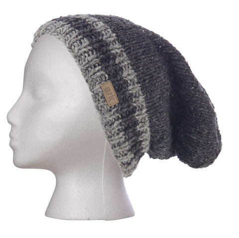 Charcoal Power Slouch Hat