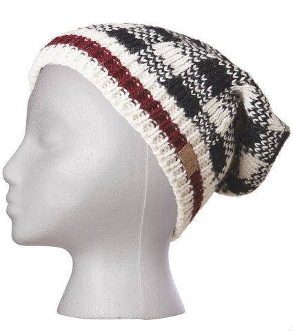 Checker Slouch Hat