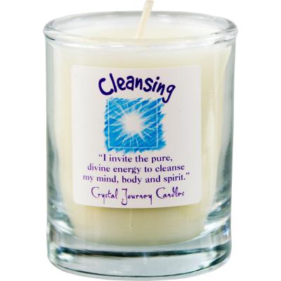 Soy Wax Candle Cleansing