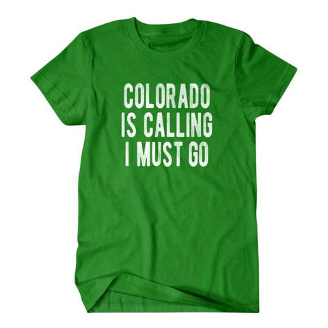 Colorado is calling I must go-Daylyn