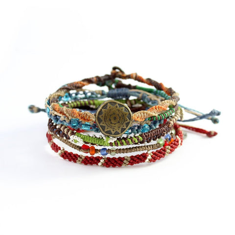 Earth Day Bundle Bracelet-Daylyn