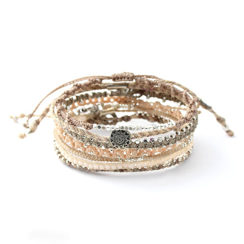 Earth Snow Bundle Bracelet-Daylyn