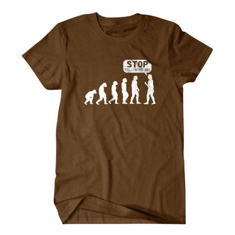 Evolution shirt, Stop following me-Daylyn
