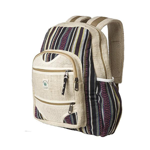 Fair Trade Hemp Knapsack-Daylyn