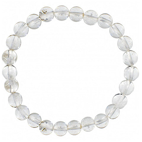 Gemstone Bracelets- Clear Quartz-Daylyn