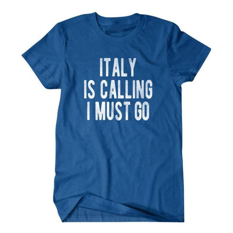 Italy is calling I must go-Daylyn