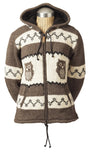 Ladies Owl Cardigan