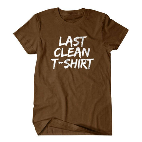 Last clean T-shirt-Daylyn