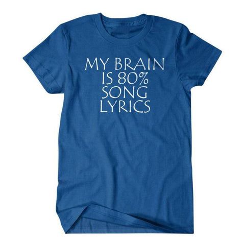 Lyrics shirt, music gift-Daylyn