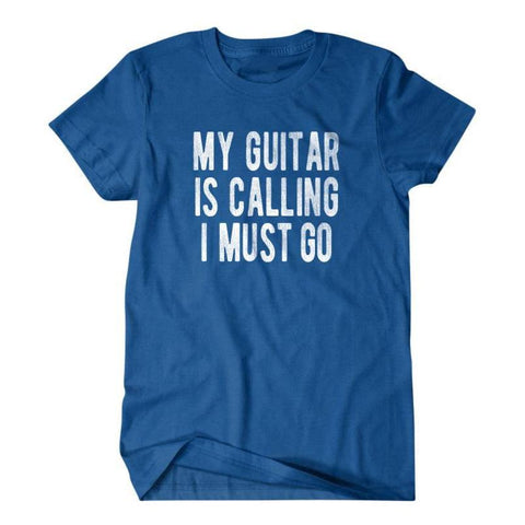 My guitar is calling I must go-Daylyn