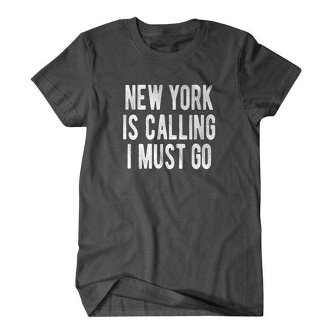 New York is calling I must go-Daylyn