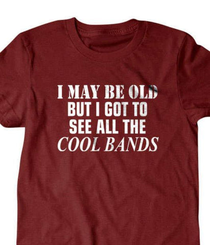 Old guy t shirt-Daylyn