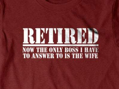 Retirement t shirt-Daylyn