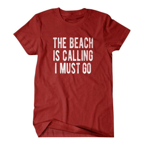 The beach is calling I must go-Daylyn