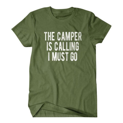The camper is calling I must go-Daylyn