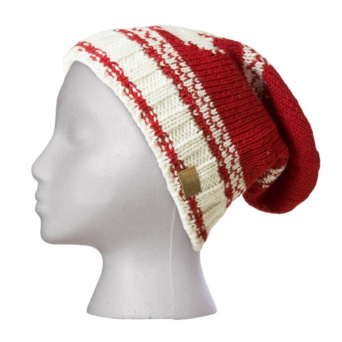 White Maple Slouch Hat