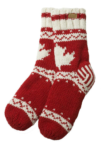 White Maple Socks