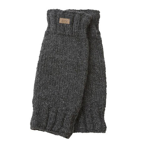 Wool Leg Warmers Charcoal-Daylyn