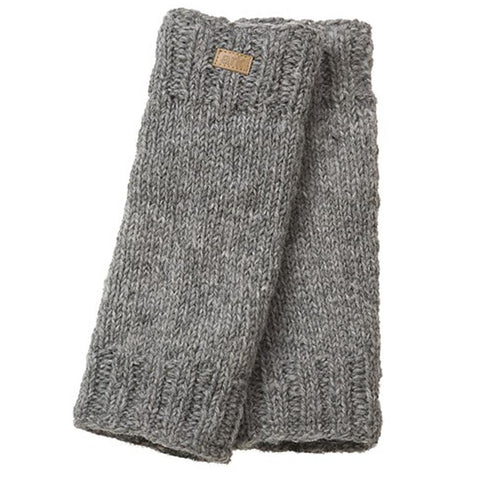 Wool Leg Warmers Grey-Daylyn