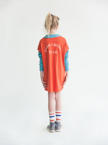 Bobo Choses Baseball Tunic Dress B.C. Team