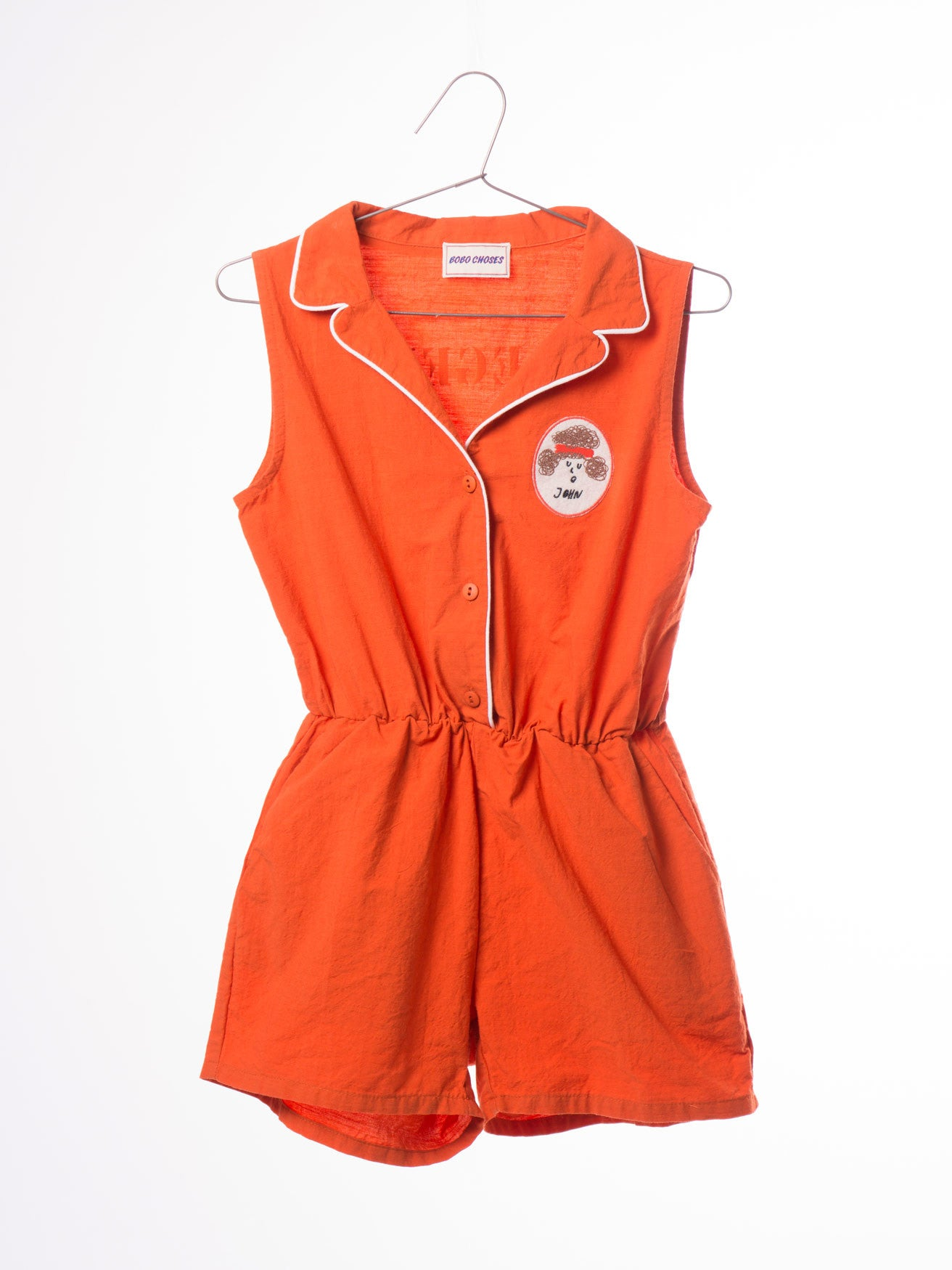 003f3967709 Bobo Choses Tailor neck Rompers Pipping – Millymog - Designer Kids ...