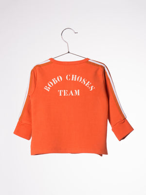 Bobo Choses Baby Zip Sweatshirt B.C. Team
