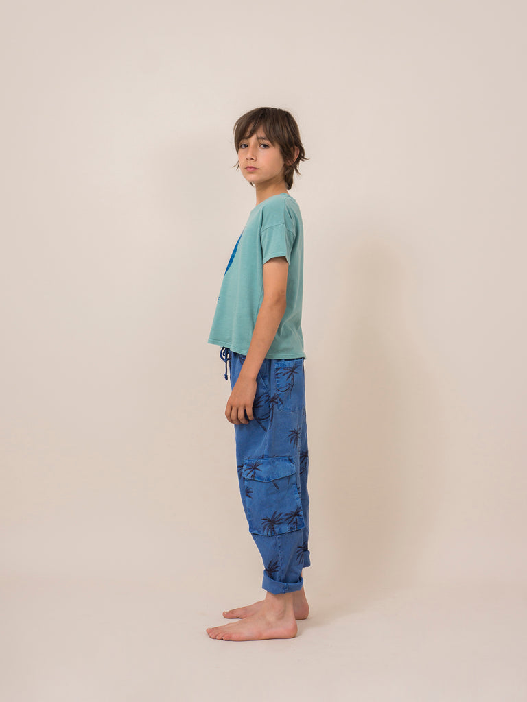 Bobo Choses Siesta Cargo Linen Pants