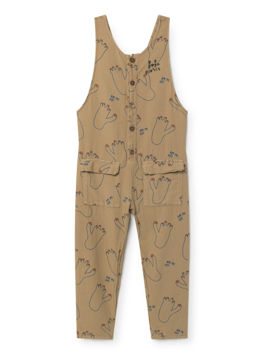 Bobo Choses Footprint Baggy Jumpsuit