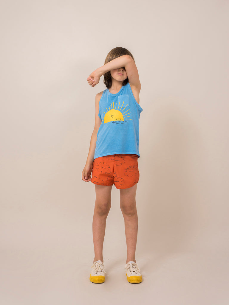 Bobo Choses Clouds Swim trunk