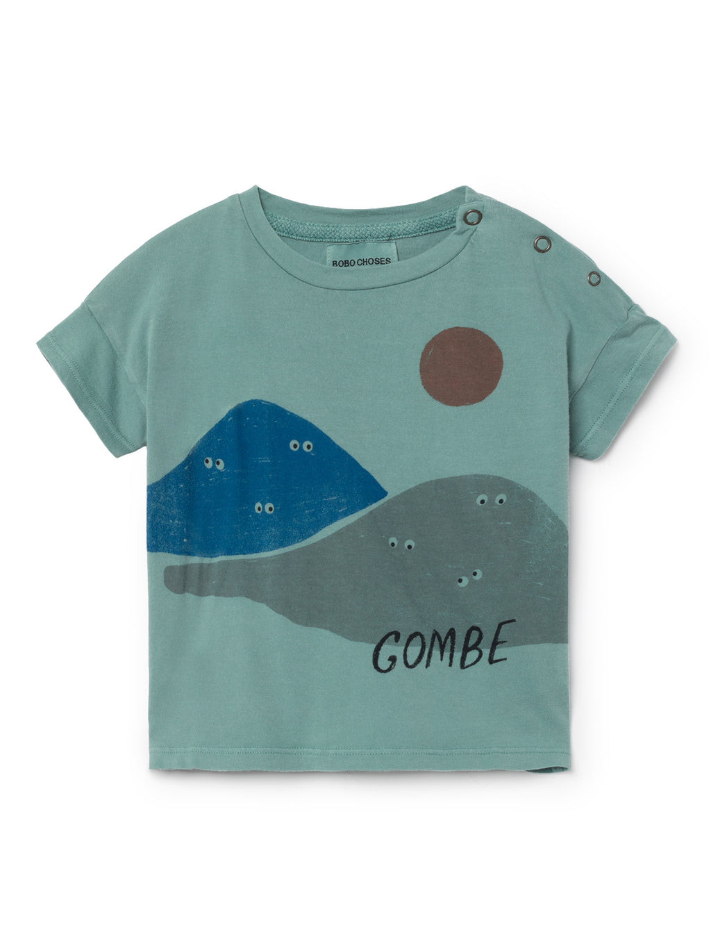 Bobo Choses Mountains Short Sleeve T-Shirt